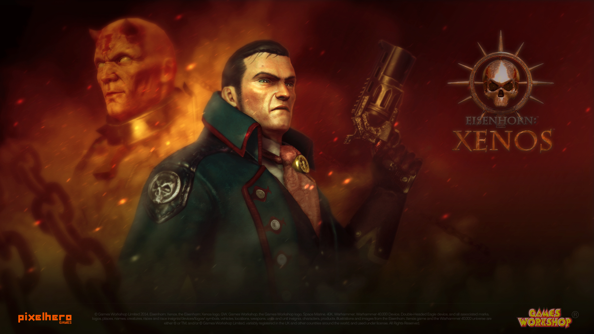 Eisenhorn: XENOS interview in Starburst Magazine!