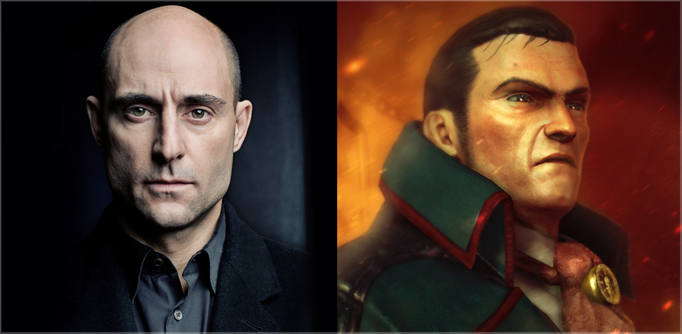 Mark Strong is Eisenhorn