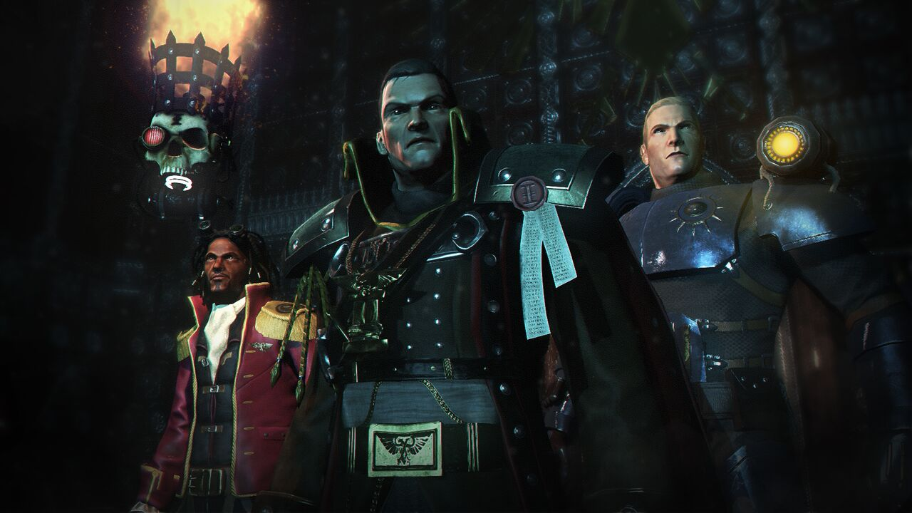 On board the Essene with Betancore, Eisenhorn and Fischig